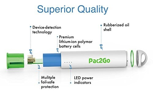 cargador de energía móvil de pac2go cargador portátil 300...