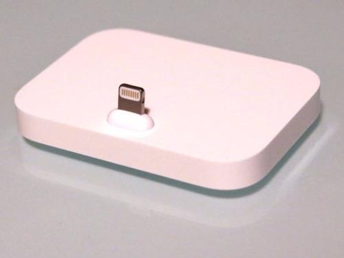 cargador de escritorio iphone 7 6 5 base dock tipo original