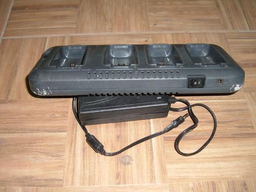 cargador de escritorio para 4 baterias dolphin 9900 9950