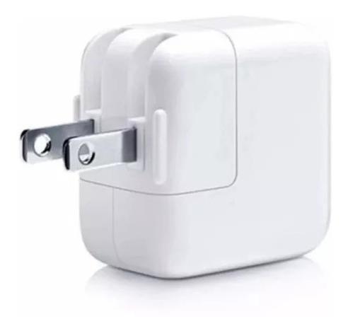 cargador de iphone ipad adaptador taco usb 12w somos tienda