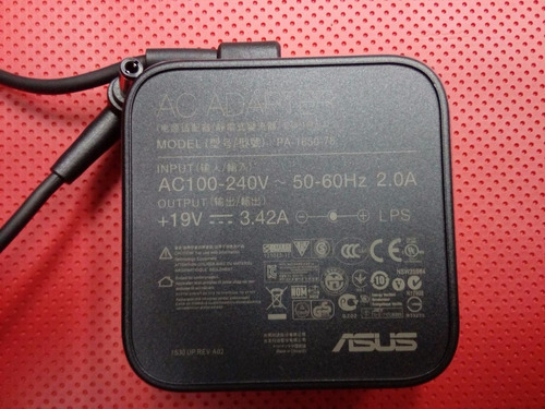 cargador de laptop asus 19v 3.42a (original) punta 5.5x2.5mm