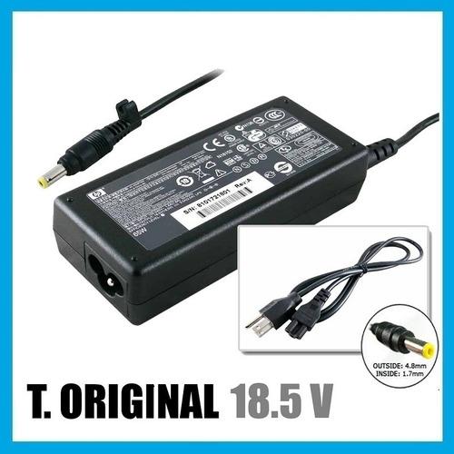 cargador de laptop hp / compaq 18.5v - 3.5a 65w amarillo