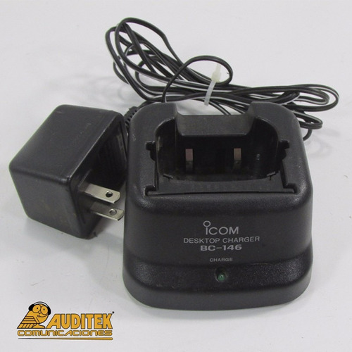 cargador de pedestal icom bc146