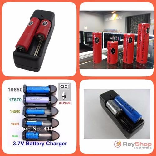 cargador de pilas baterías 18650..., + 1 batería dtmcd