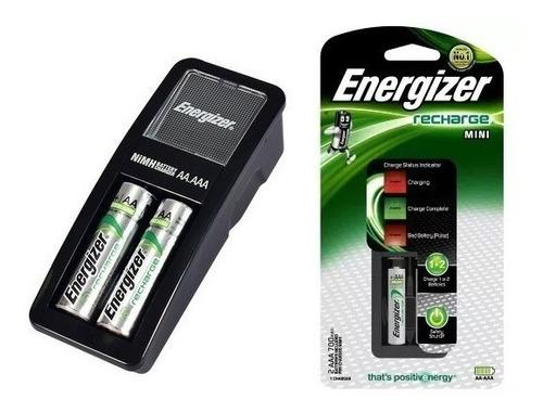 cargador de pilas energizer mini aaa + 2 aa 1350mah ch2pc4