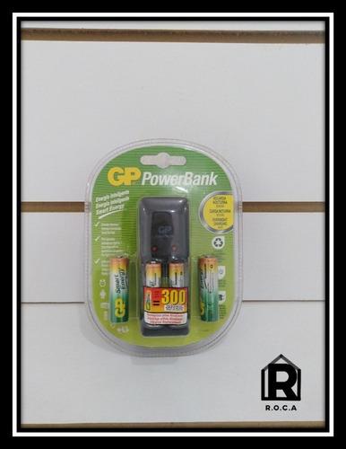 cargador de pilas recargables gp