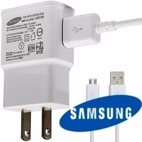 cargador de samsung original micro usb-carga rapido 2.0v