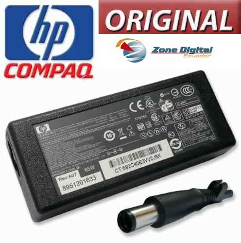 cargador de voltage hp 18.5v 65w punta de aguja original
