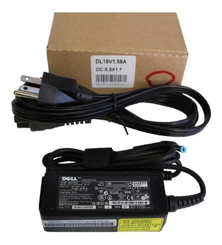 cargador dell original mini 19v 1.58a wa-30a19y y200j pp19s