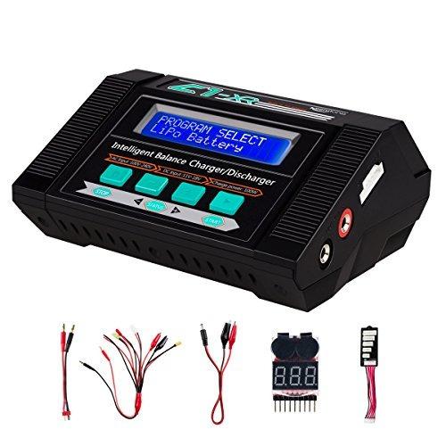 cargador / descargador de batería keenstone lipo con comprob