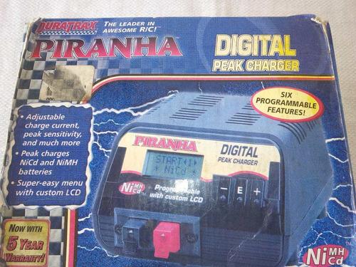 cargador digital para baterías nimh/cd  piranha duratrax