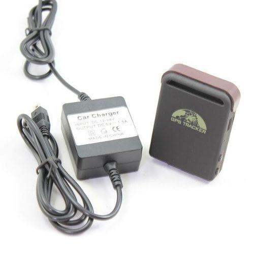 cargador directo de auto moto para la batería gps tracker