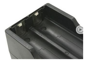 cargador doble batería 18650