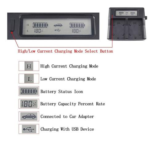 cargador doble bateria sony a7r iii a9 ilce-9 np-fz100