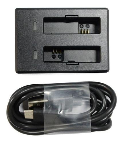 cargador doble para baterías sjcam m20