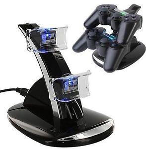 cargador doble para control ps4 playstation 4 100% garanti
