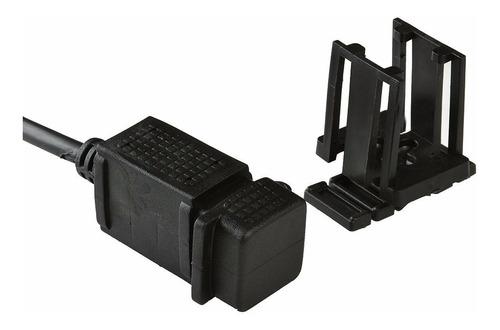 cargador doble usb 12v para manubrio 0504
