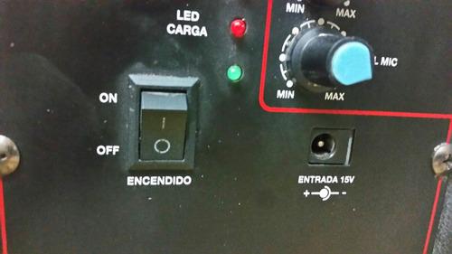 cargador eliminador 15 voltios a 1.5 a para bocina amplific