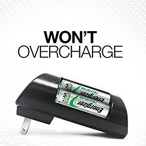 cargador energizer pro mas baterias aa recargables combo