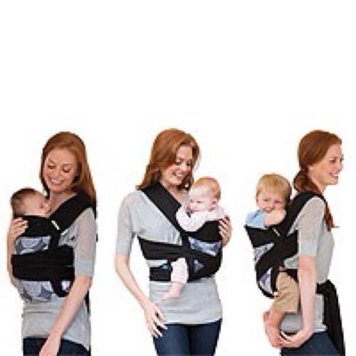 cargador ergonómico portabebé mei tai bebé cauac