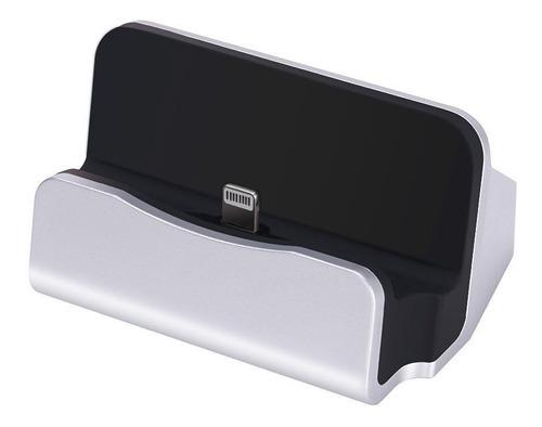 cargador escritorio base dock para iphone