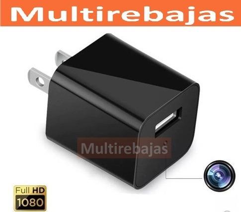 cargador espia - mini camara espia-microsd - video