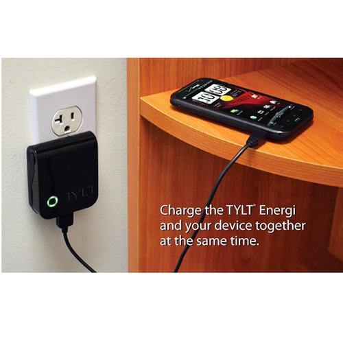 cargador externo tilt para cargar celulares ipod iphone +usb