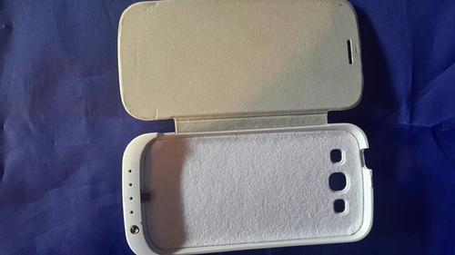 cargador forro power bank  bateria externa samsung s3 i9300