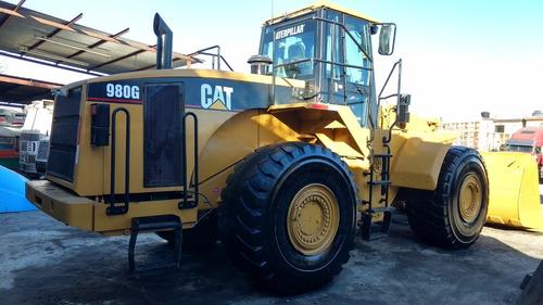 cargador frontal 980g cat recién importado. (tomo a cuenta)