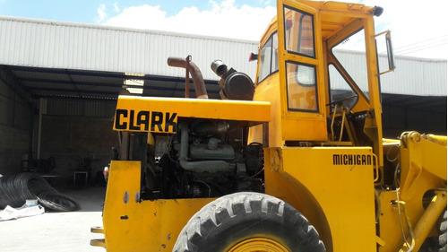 cargador frontal articulado clark 75a