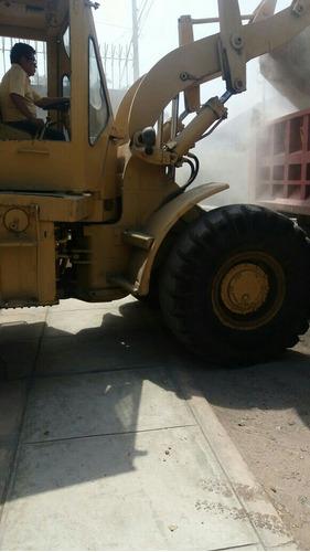cargador frontal cat 950  año 1985