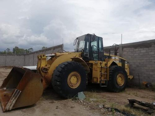 cargador frontal cat 980g año 2000