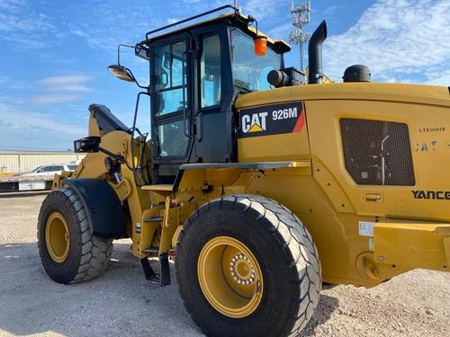 cargador frontal caterpillar 926m payloader motor cat
