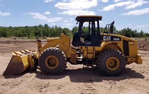 cargador frontal caterpillar 950h payloder 950h