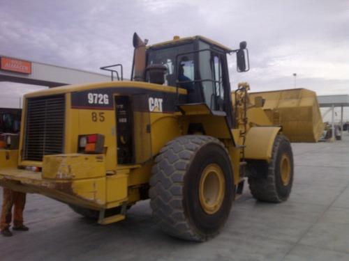 cargador frontal caterpillar 972g mod. 2002 como nuevo