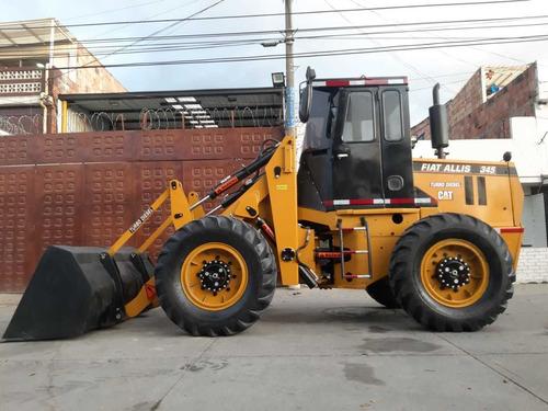 cargador frontal caterpillar fiat allis fr10 turbo diesel