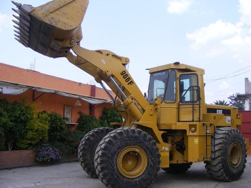 cargador frontal caterpillar modelo 966f año 1995