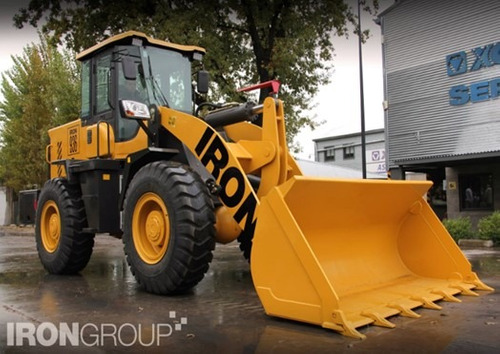 cargador frontal  iron 936 (2m3 - 125hp) ¡oferta contado!