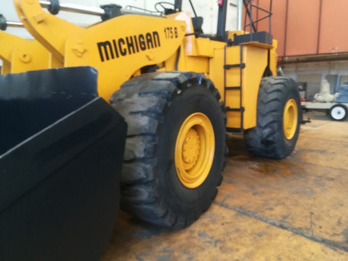 cargador frontal michigan modelo 175b