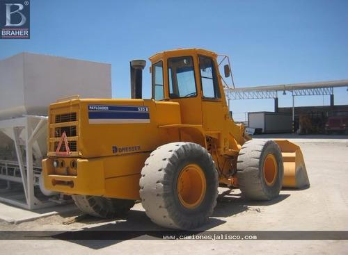 cargador frontal payloader dresser 520b #654