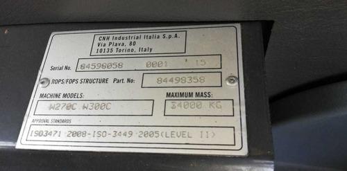 cargador frontal w270c - nuevo con precio de usado - loader