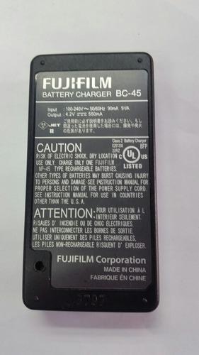 cargador fujifilm bc-45 para cámaras digitales