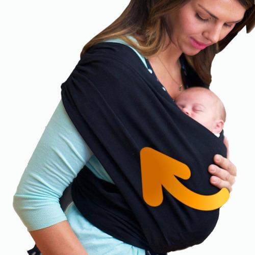 cargador fular bebe beybies + bolso regalo