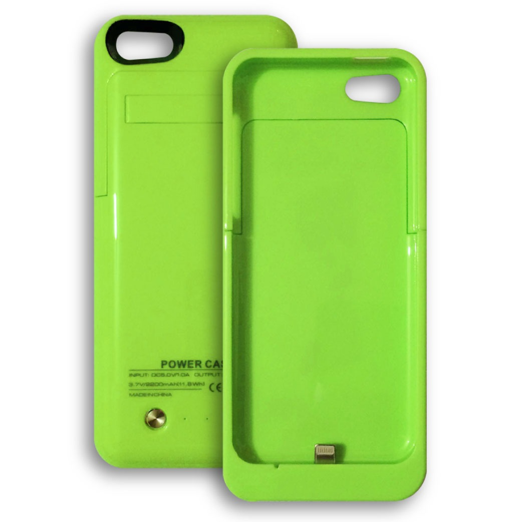 Cargador funda bater a externa iphone 5 5c 5s 2200mah en mercado libre - Fundas iphone 5 divertidas ...
