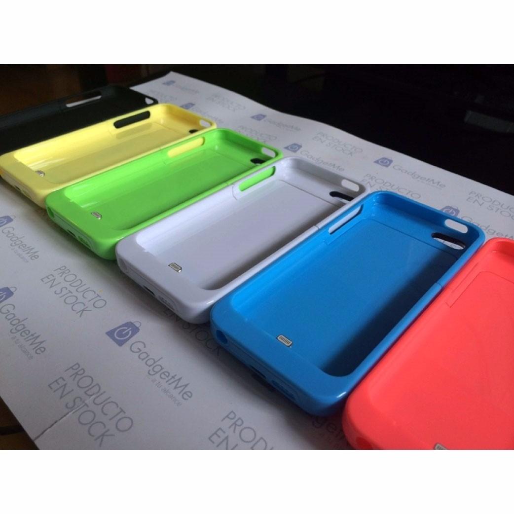 Cargador funda bater a externa iphone 5 5c 5s 2200mah en mercado libre - Funda bateria iphone 5c ...
