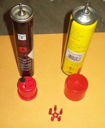 cargador gas universal sopletes encendedores fosforeras free