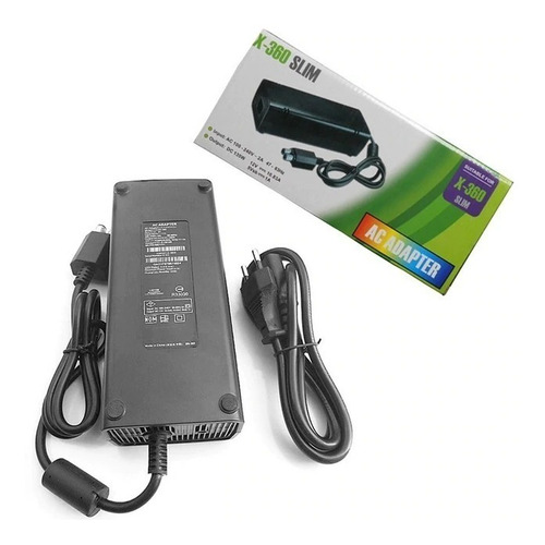 cargador generico pared fuente poder para xbox 360 slim