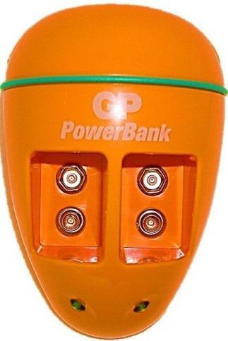 cargador  gp + 2 baterías pilas 9v recargable 170 mah  garan