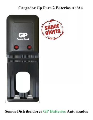 cargador gp aa y aaa sin baterias a013
