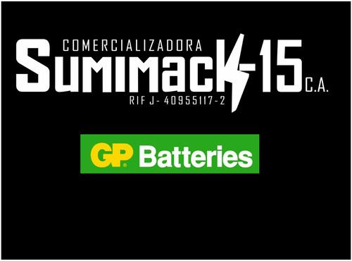 cargador gp con 4 baterias recargables aa gp nimh 2700mah